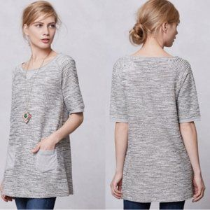 Anthropologie Meadow Rue Nubby Boucle Tunic